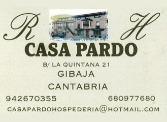 Casa Pardo en Gibaja