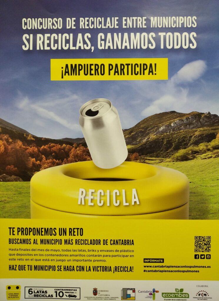 Concurso de Reciclaje entre Municipios Ampuero